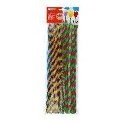 Chenilledraad 30 cm - 50 Stuks - Twisted