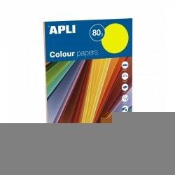 Gekleurd Papier Fluor A4 100-dlg.
