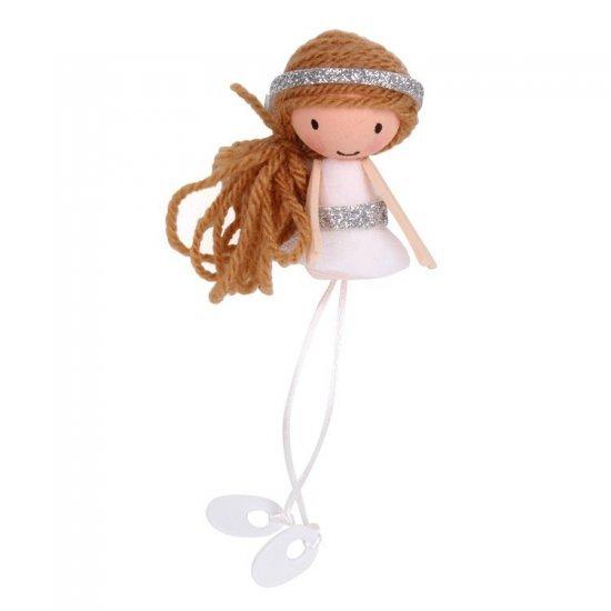 Ballerina - Danser Knutselset , uit foam, vilt, chenille in diverse kleuren. Geschikt vanaf 4+.