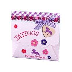 Tattoo Paarden in Envelop 8 x 8 cm