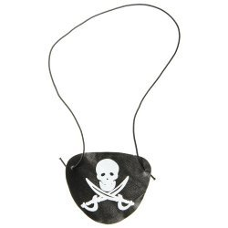 Ooglap Piraat 8 x 6 cm