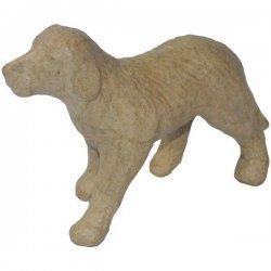 Hond Papier-Maché 11 x 9 cm