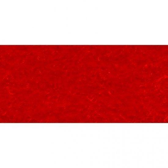 Vellen vilt 6 Stuks, 20 x 30 cm groot uit vilt in de kleur rood. Geschikt vanaf 3+.