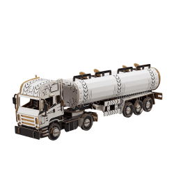 Bouwdoos Tankwagen 80x20x23 cm