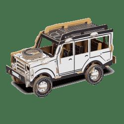 Bouwdoos Safari Jeep  34x16x18 cm