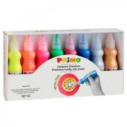 Schoolverf 8 x 50 ml. Fluo & Metaal kleuren