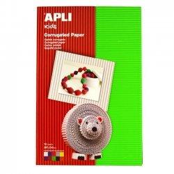 Golfkarton - Ribbelkarton Kleuren Assortiment 10-Vellen A4