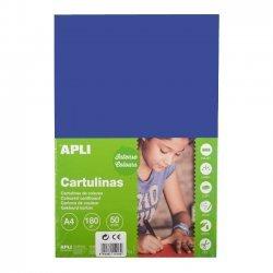 Karton - Knutselkarton Blauw 50-Vellen A4
