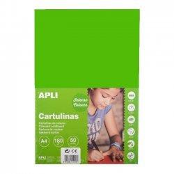 Karton - Knutselkarton Groen 50-Vellen A4