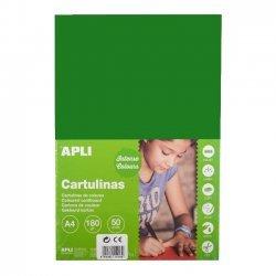 Karton - Knutselkarton Donker Groen 50-Vellen A4