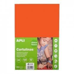 Karton - Knutselkarton Oranje 50-Vellen A4