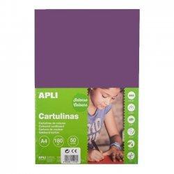 Karton - Knutselkarton Violet 50-Vellen A4