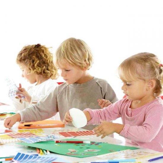 Educatieve Stickers 20 mm DRIEHOEK - GROEN 2832 Stuks