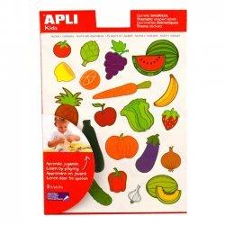 Educatieve Thema Stickers FRUIT & GROENTEN - 60 Stuks