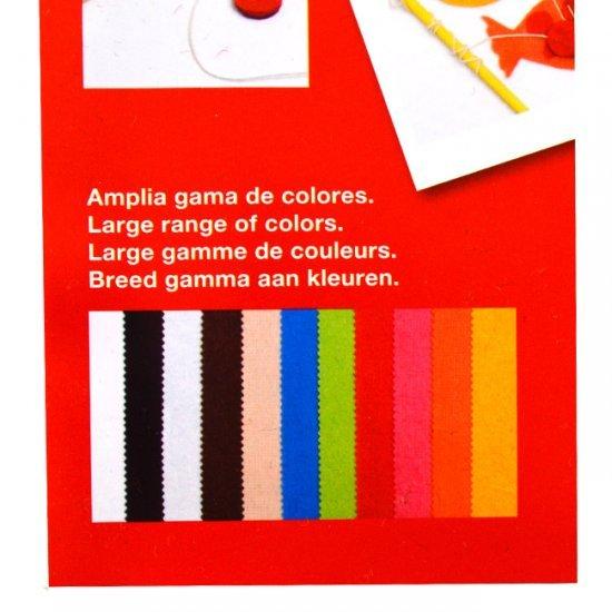Vilt Kleuren Assortiment 10-Vellen A4