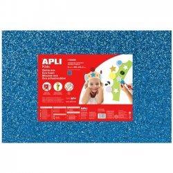 Foam - Schuimrubber Glitters Blauw 1-Vel 400x600x2mm