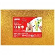 Foam - Schuimrubber Glitters Goud 1-Vel 400x600x2mm
