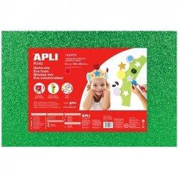 Foam - Schuimrubber Glitters Groen 1-Vel 400x600x2mm