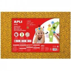 Foam - Schuimrubber Motief Leopard Geel 1-Vel 400x600x2mm