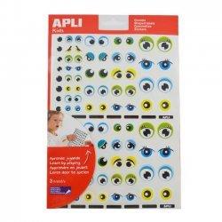 Educatieve Stickers OGEN Blauw Groen - 312 Stuks