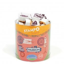 Stempels Scrap - Kaart  COUTURE