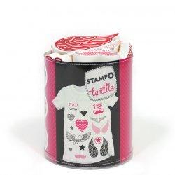 Stempels Textiel  LOVE & CHIC