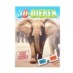 Stickerboek 3D - Dieren