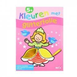 Kleuren met Glitterfolie Prinses 5+