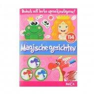 Stickerboek Magische Gezichten
