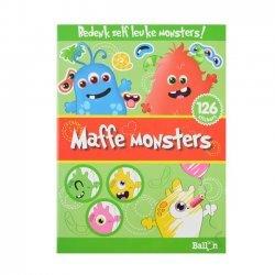 Stickerboek Maffe Monsters