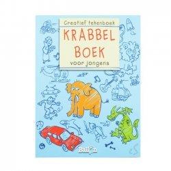 Krabbelboek voor Jongens Blauw
