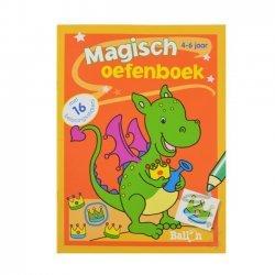 Magisch Oefenboek Draak 4-6 jaar