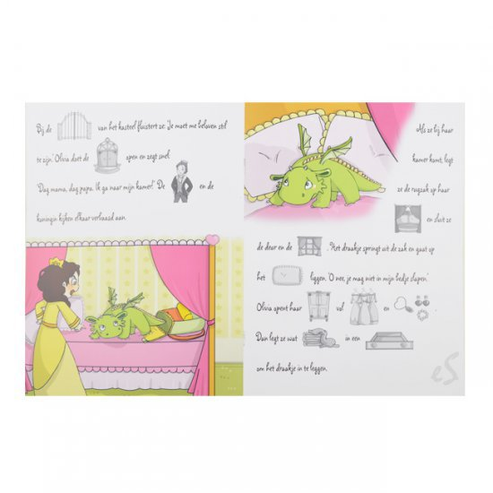 Verhalenplakboek Prinses Olivia en het Draakje