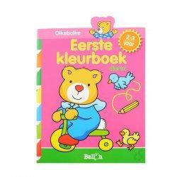 Olkebolke Eerste Kleurboek Dieren 2-3 Jaar