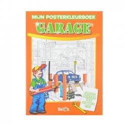 12 x Posterkleurboek Garage
