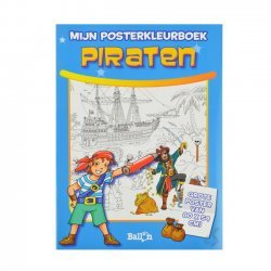 Posterkleurboek Piraten