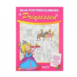 Posterkleurboek Prinsessen
