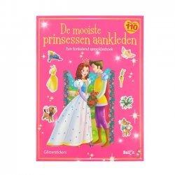 Stickerboek De mooiste Prinsessen aankleden