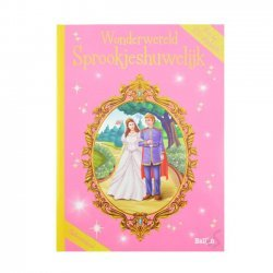 Stickerboek Sprookjeshuwelijk