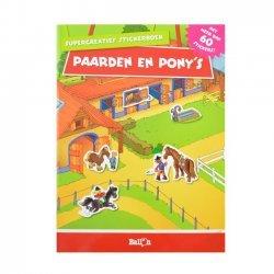 Creatief Stickerboek Paarden & Pony's