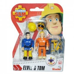 Brandweerman Sam Speelfiguren - Elvis & Tom