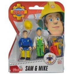 Brandweerman Sam Speelfiguren - Sam & Mike