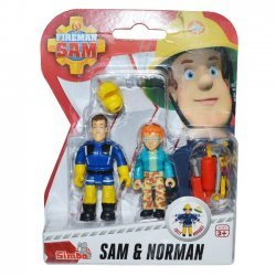 Brandweerman Sam Speelfiguren - Sam & Norman