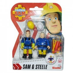 Brandweerman Sam Speelfiguren - Sam & Steele