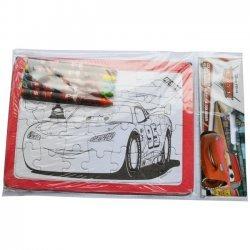 12 x Kleur Puzzel Cars 18 x 13 cm