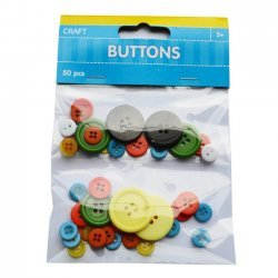 Knopen - Buttons 50-delig