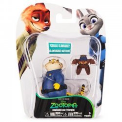 Zootropolis Speelfiguren - Clawhauser & Bat Eyewitness