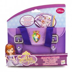 4 x Sofia the First Knutsel Handtas