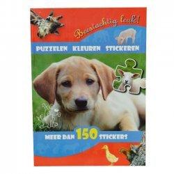 Stickerboek Beestachtig Leuk 5+
