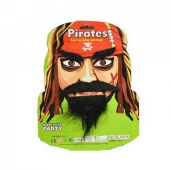 Snor - Baard - Wenkbrauwen Piraat